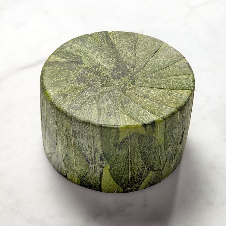 Baby Cornish Yarg Cheese in Wild Garlic 1kg
