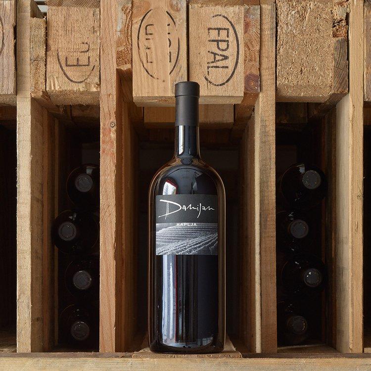 Organic Bianco Kaplja White Wine Magnum 2008 150cl