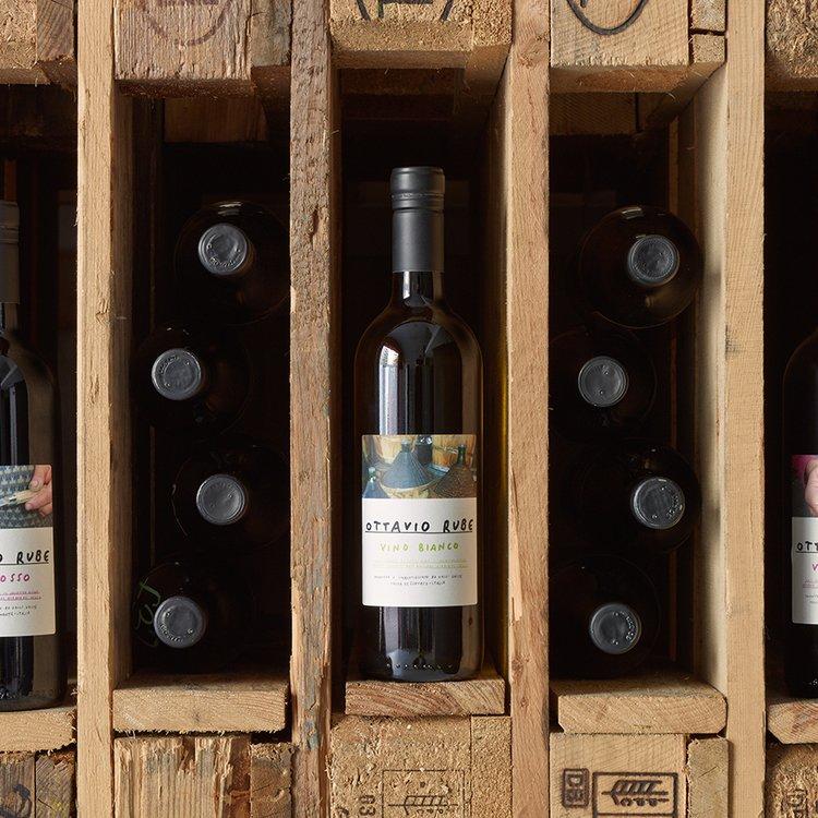 Organic Ottavio Rube White Wine 2014 75cl