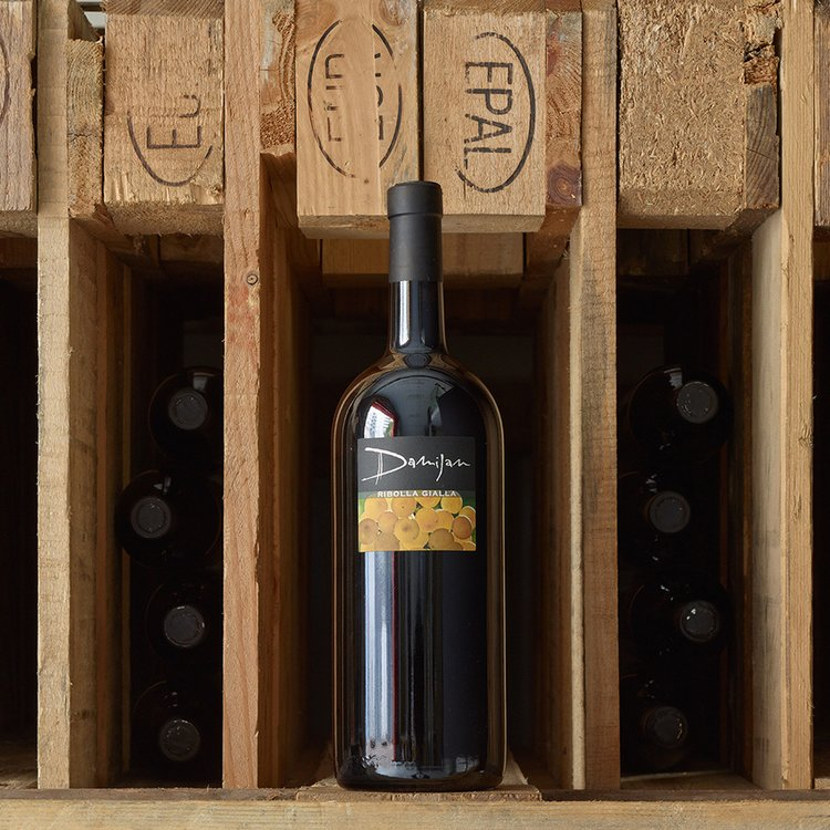 Organic Ribolla Gialla Magnum White Wine 2008 150cl