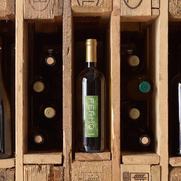 Organic Fermo Zanotto Dry Prosecco Wine 2013 75cl