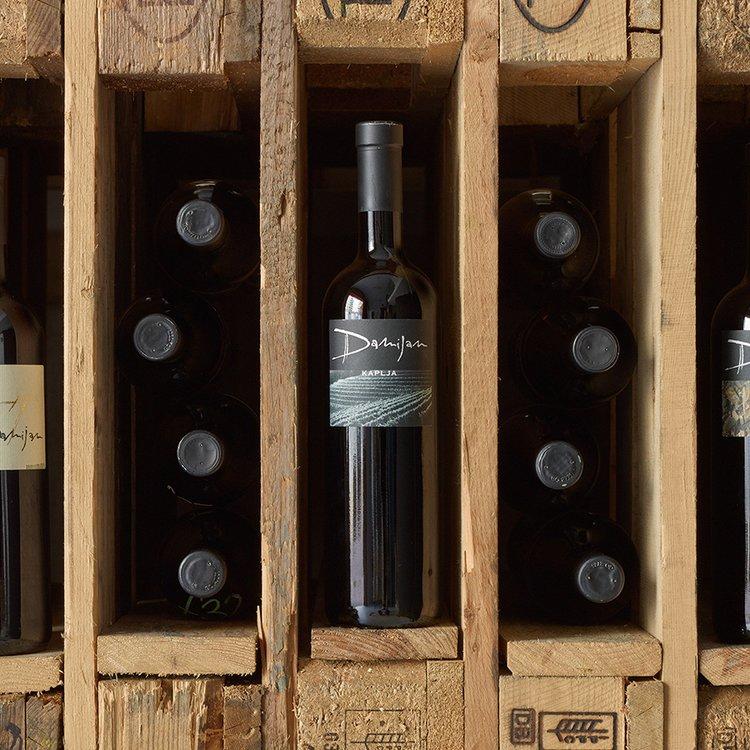 Organic Bianco Kaplja White Wine 2008 75cl