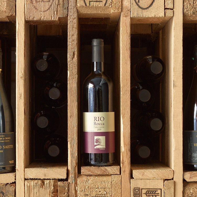 Organic Rio Rocca Caberzmein Red Wine 2013 75cl