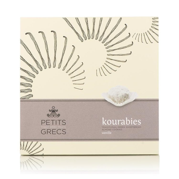 Kourabies - Greek Shortbread Cookies with Vanilla & Almonds 190g