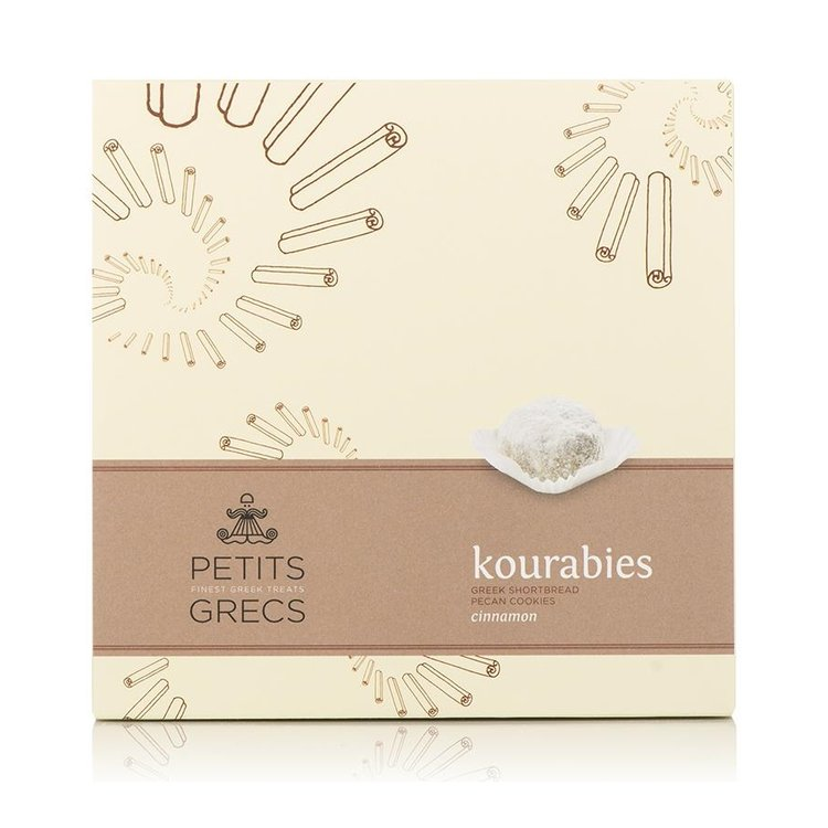 Kourabies - Greek Shortbread Cookies with Cinnamon & Walnuts 190g