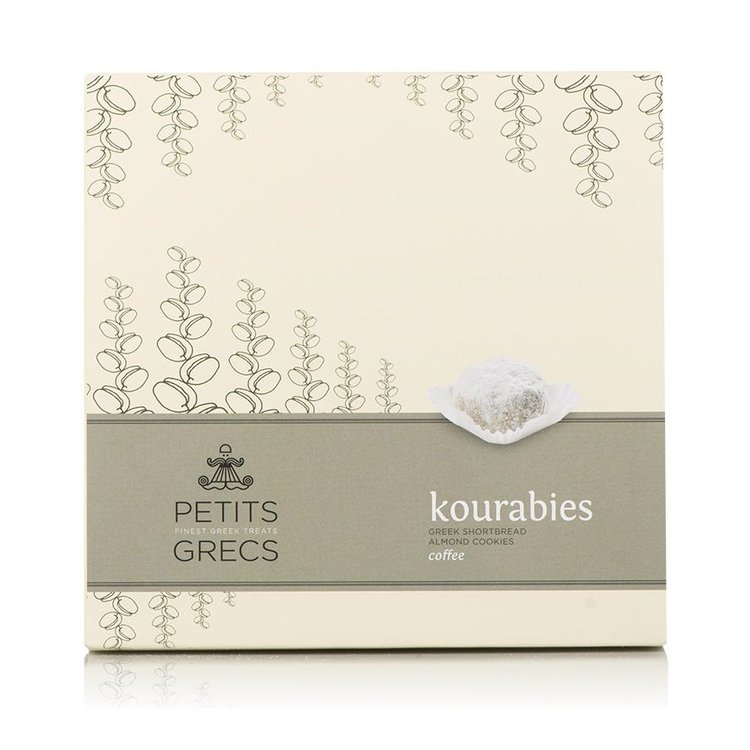 Kourabies - Greek Shortbread Cookies with Greek Coffee & Almonds 190g