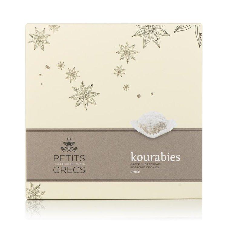 Kourabies - Greek Shortbread Cookies with Anise & Pistachio 190g