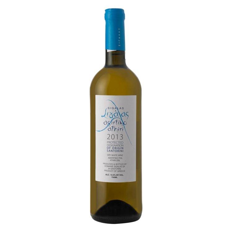 Assyrtiko-Athiri Domaine Sigalas White Wine PDO Santorini