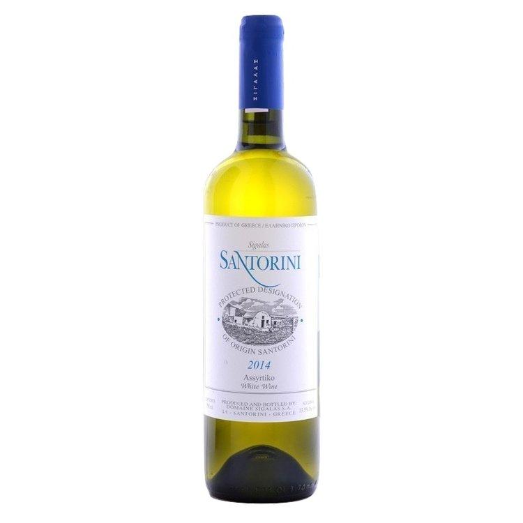 Assyrtiko Santorini Domaine Sigalas White Wine PDO