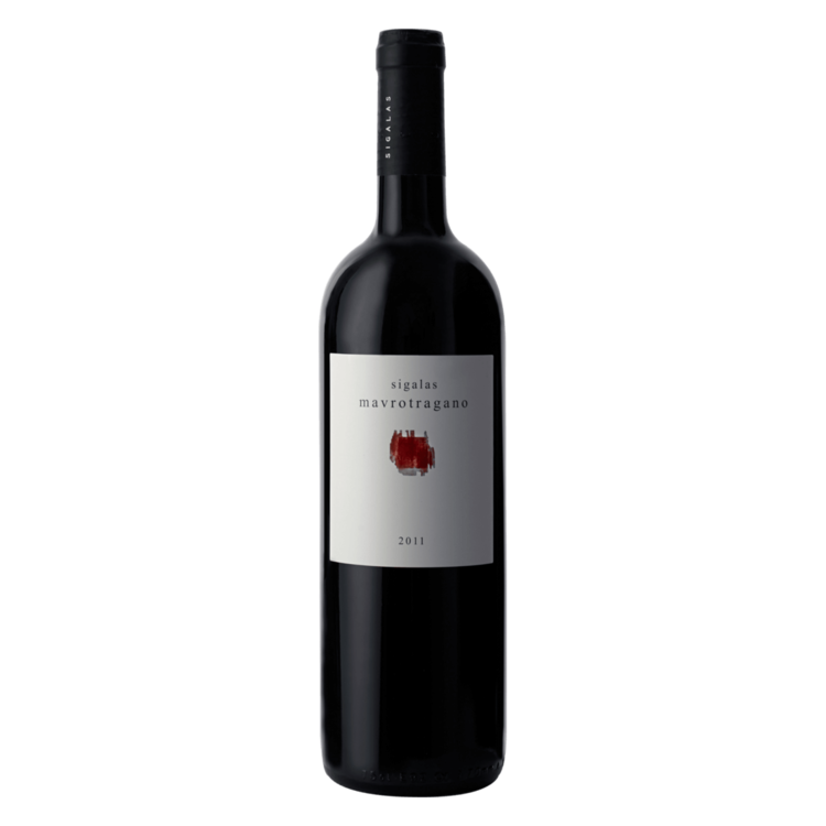 Mavrotragano Cyclades Domaine Sigalas Red Wine PGI 2014
