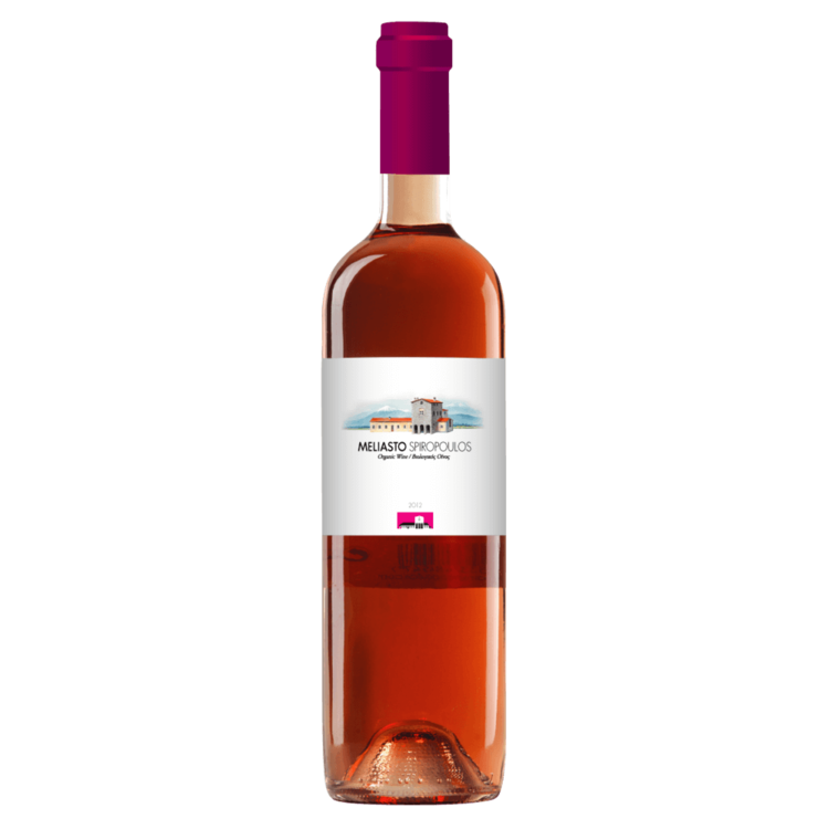 Organic Meliasto Moschofilero-Agiorgitiko Rosé Wine 2014 750ml
