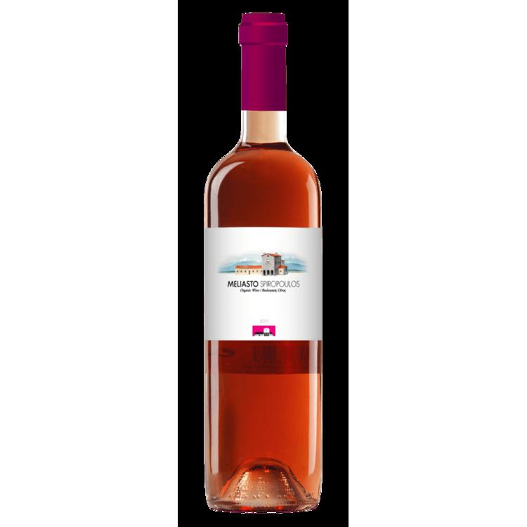 Organic Moschofilero-Agiorgitiko Mantinia Rose Wine PDO 2014 12% Vol