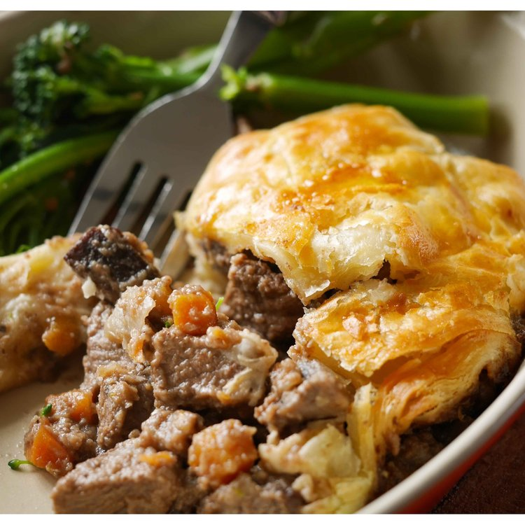 Herefordshire Beef & Stout Pie 900g