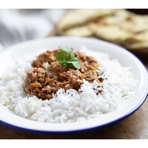 Free-Range Chicken Curry & Rice 550g