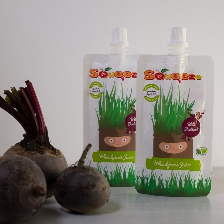 Wheatgrass Shots with Beetroot 7 x 60ml