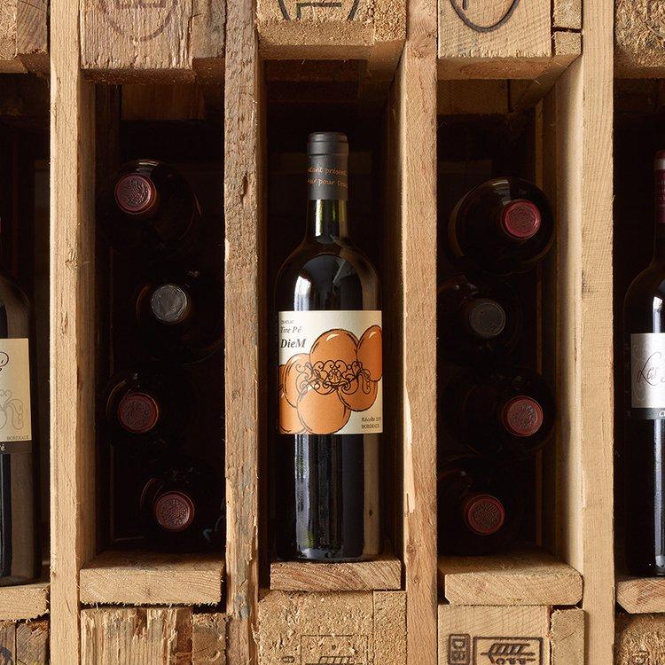 Organic Diem Bordeaux Red Wine 2013 75cl