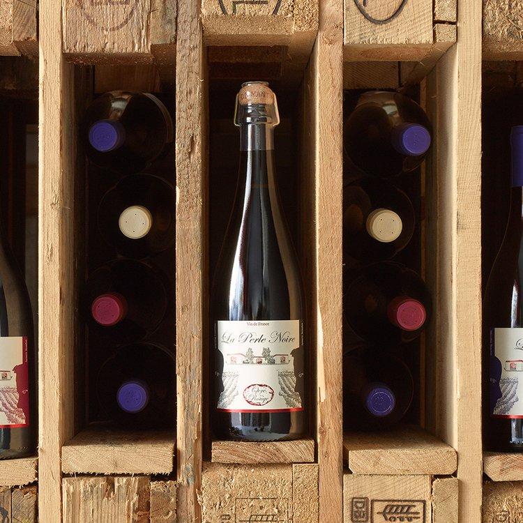 Organic La Perle Noire White Wine 2013 75cl