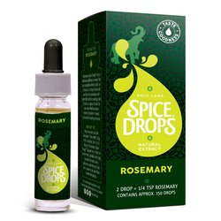 Rosemary Herb Spice Drops 2 x 5ml (For Baking & Cooking)