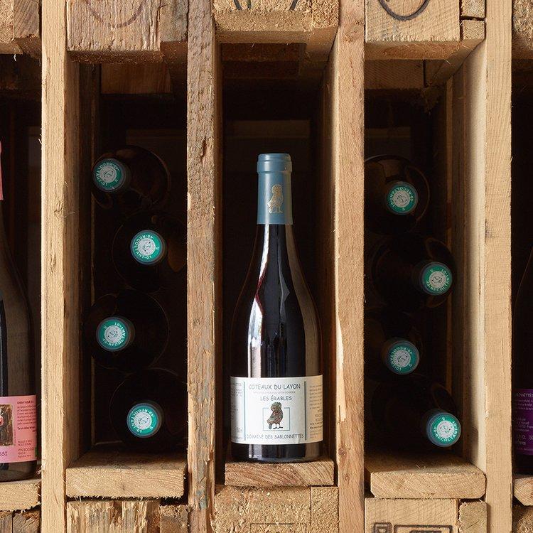 Organic Les Erables Coteaux Du Layon Wine 2010 50cl