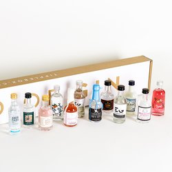 'Great British Yard of Gin' Gift Set Inc. Tarquin's, Manchester & Sipsmith Gins
