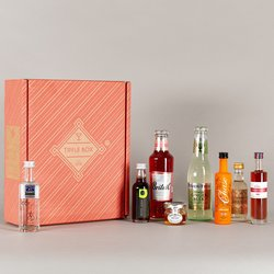 Luxury Christmas Gin Cocktail Gift Set (Makes Sticky Toffee Gin Fizz & Black Forest Martini)