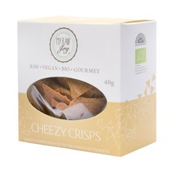 Organic Dairy-Free Cheddar Cheese Vegetable Crisps Snack 40g (Vegan)