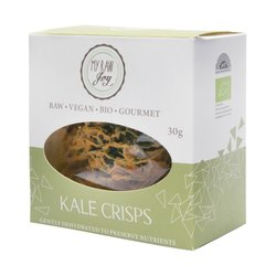 Organic Kale Vegetable Crisps Snack 30g (Vegan)