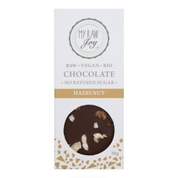 Organic 30g Raw Hazelnut Chocolate Bar (Vegan)