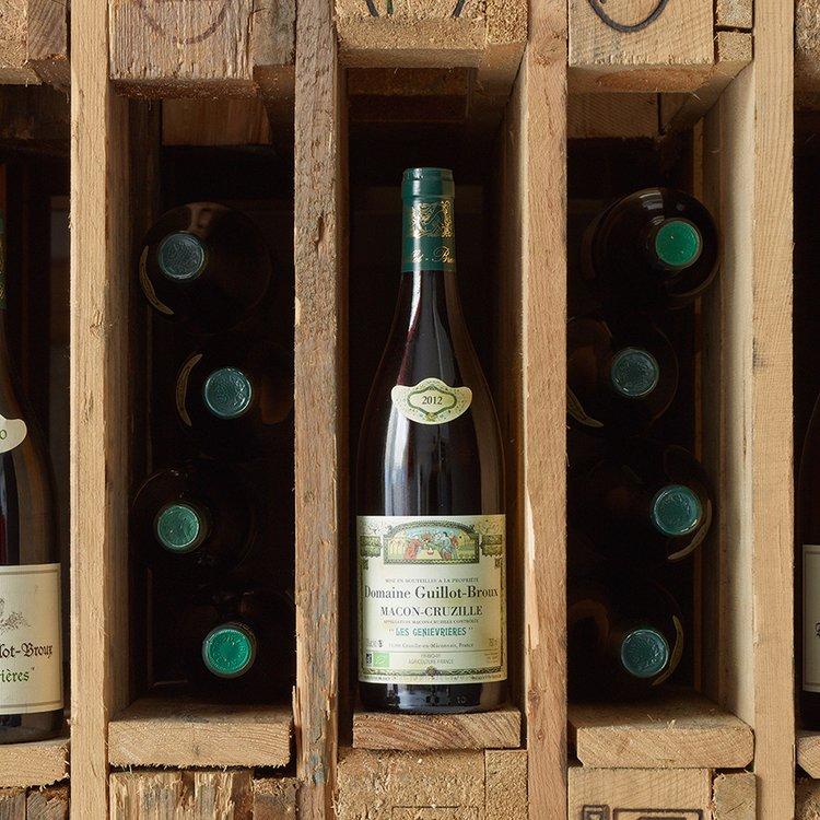 Organic Les Genievrieres White Wine 2014