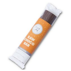 Organic Caramel Filled Raw Chocolate Bar 30g (Vegan)
