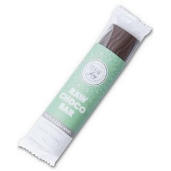 Organic Apple, Pineapple & Caramel Filled Raw Chocolate Bar 30g (Vegan)