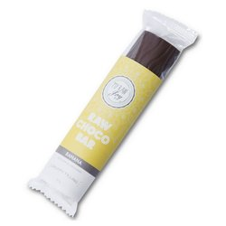 Organic Banana Filled Raw Chocolate Bar 30g (Vegan)