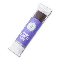 Organic Raspberry Filled Raw Chocolate Bar 30g (Vegan)