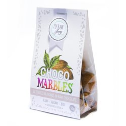 Organic Raw Chocolate Covered Activated Almonds 'Marbles' 50g (Vegan)
