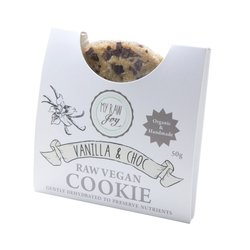 Organic Raw Vanilla & Chocolate Chip Cookie 50g