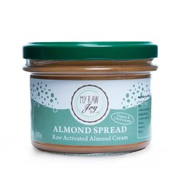 Organic Vegan Activated Almond Cream Spread 200g