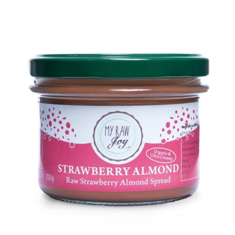 Organic Vegan Strawberry & Almond Spread 200g