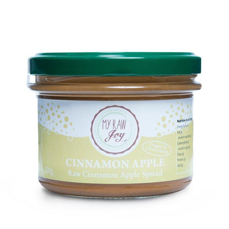 Organic Vegan Cinnamon & Apple Activated Almond Spread