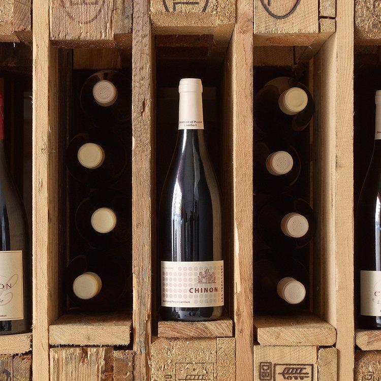 Organic Les Tarrasses Chinon Red Wine 2014 75cl
