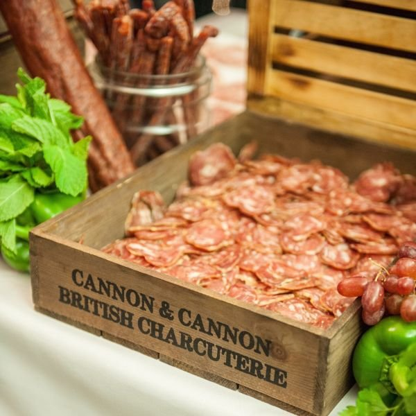 Rustic Charcuterie Wooden Serving Crate