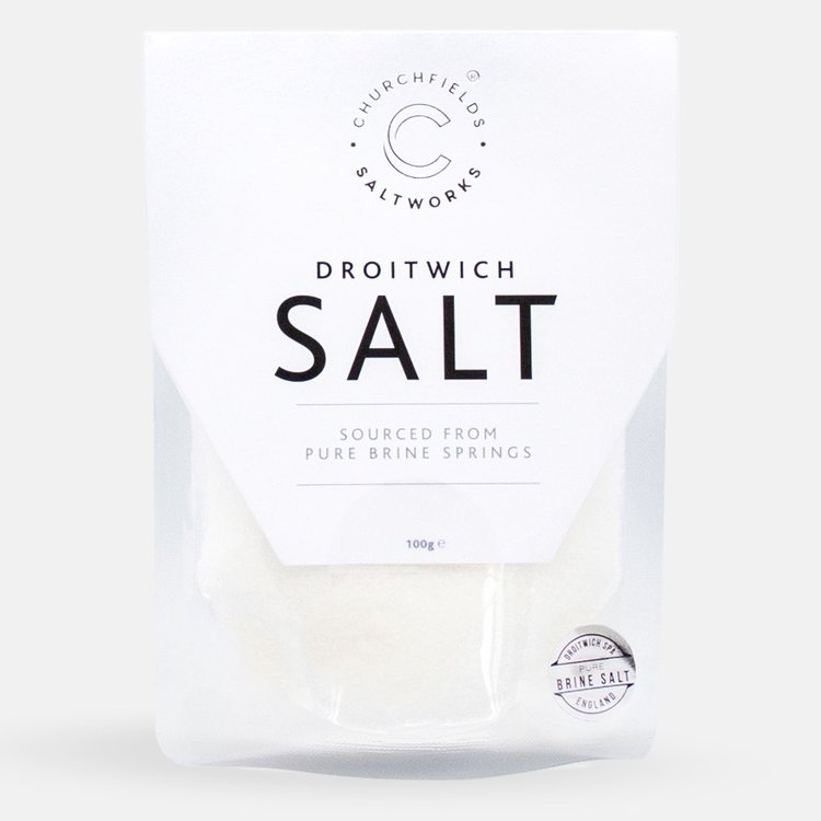 Natural Pure Brine Sea Salt 100g (For Grinding)