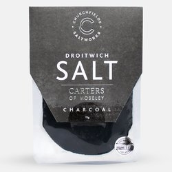 Black Charcoal Natural Brine Sea Salt 75g