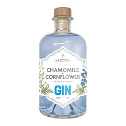 Chamomile & Cornflower Flavoured Gin 50cl 39% ABV