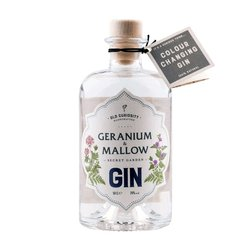 Geranium & Mallow Flavoured Gin 50cl 39% ABV