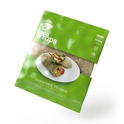 Organic Seaweed Tortilla Wraps 'I Sea Wraps' 280g