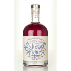 Raspberry & Almond Flavoured 'Bakewell' Liqueur 50cl 20% ABV by Pennington's