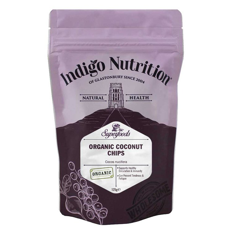 Organic Raw Coconut Chips 125g