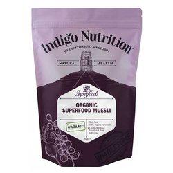 Organic Superfood Breakfast Muesli Inc. Oats, Seeds, Nuts & Freeze-Dried Fruit 1kg (Vegan)