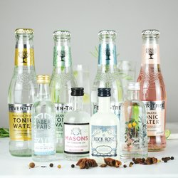 Craft Gin Cocktail Lovers Gift Set Inc. 4 Craft Gins