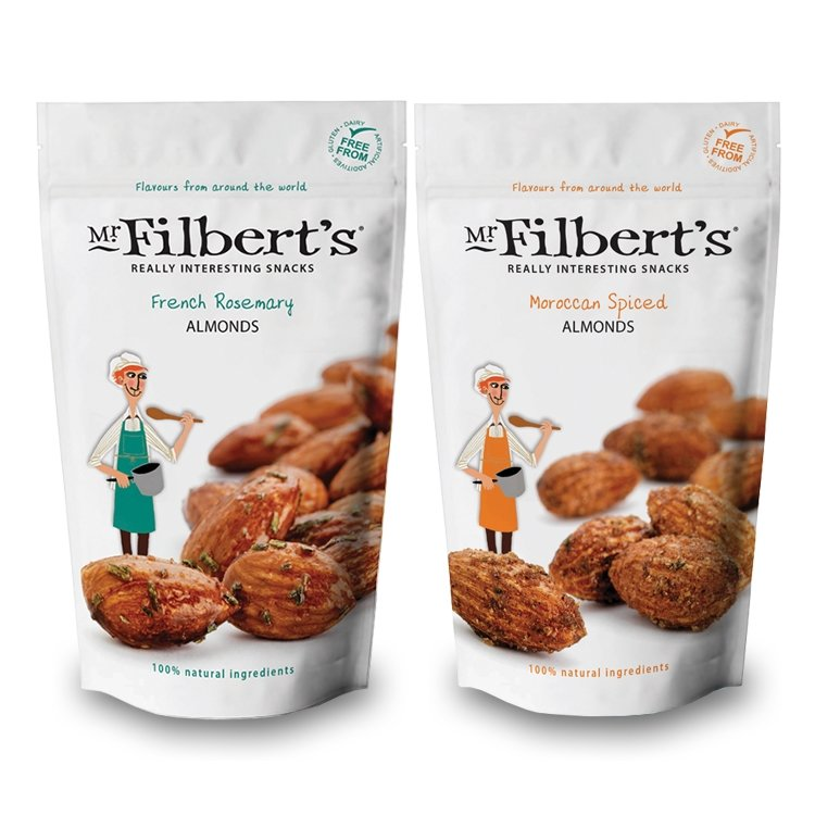 French & Moroccan Almond Packs 2 x 110g